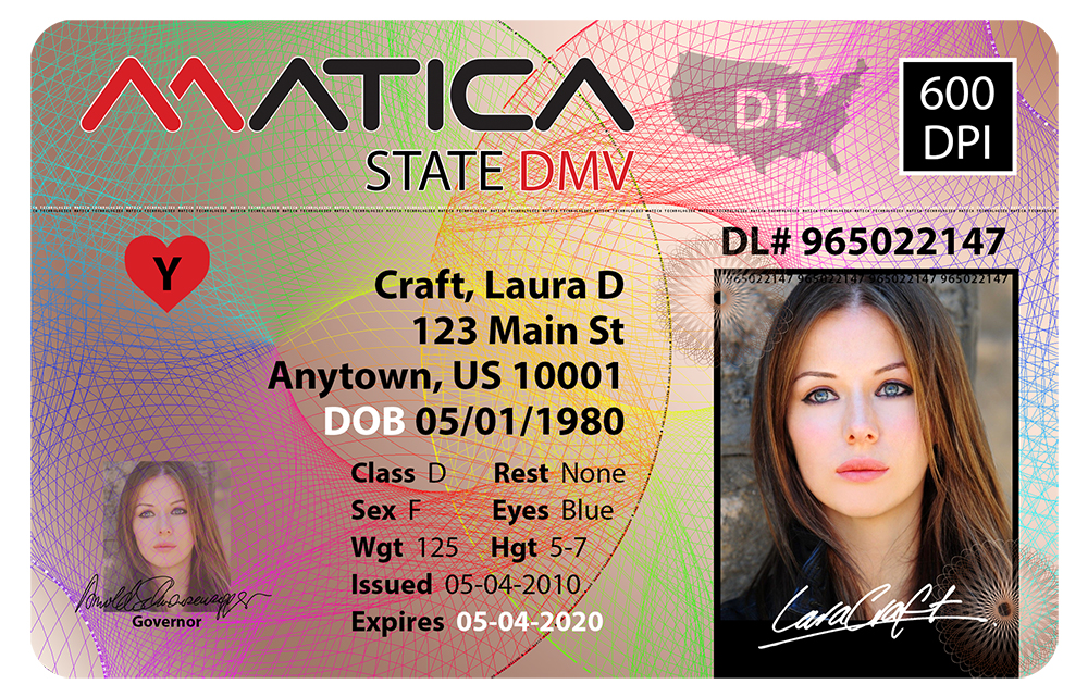 600dpi DMV Sample